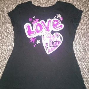 Justice girl's size 14 t-shirt